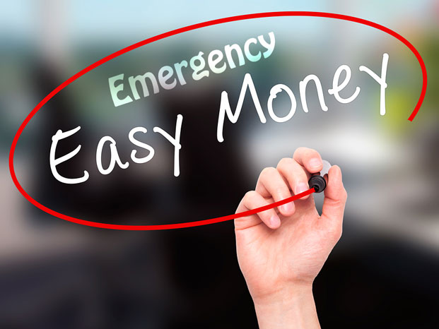 emergency easy money