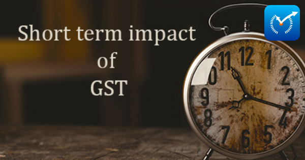 short-term Impact of GST